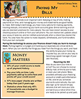 Paying My Bills - Financial Literacy Pamphlet