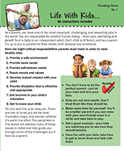 Life With Kids Pamphlet