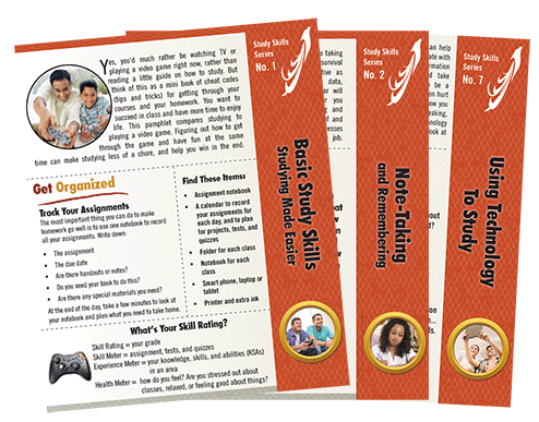 Study Skill Pamphlet Covers